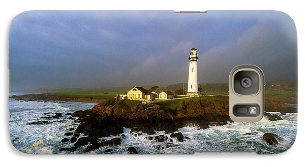 Galaxy Case featuring the photograph Pigeon Point Lighthouse by Evgeny Vasenev