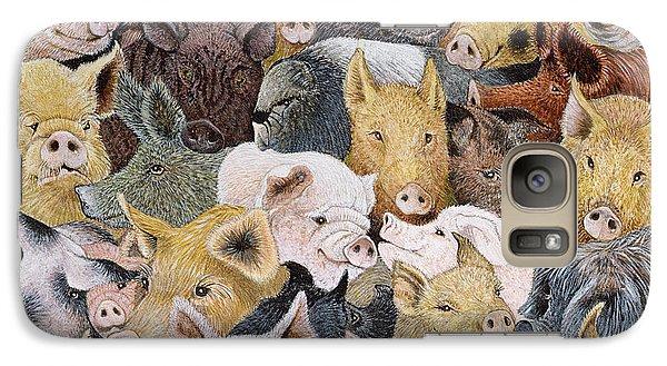 Pigs Galore Galaxy S7 Case