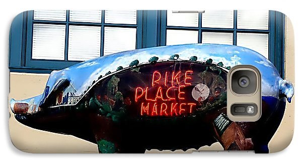 Galaxy Case featuring the photograph Pike Place Market by Janice Spivey