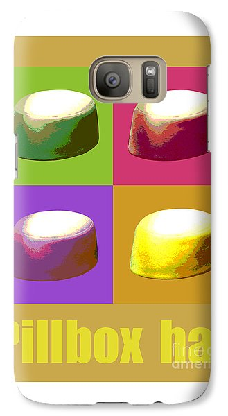 Galaxy Case featuring the digital art Pillbox Hat by Jean luc Comperat