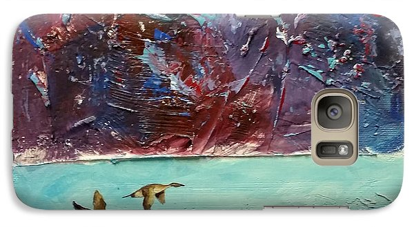 Galaxy Case featuring the painting Pin Tails by David  Maynard
