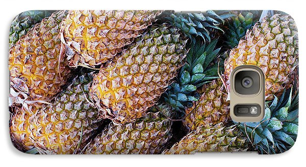 Galaxy Case featuring the photograph Pinapples by Tim Gainey