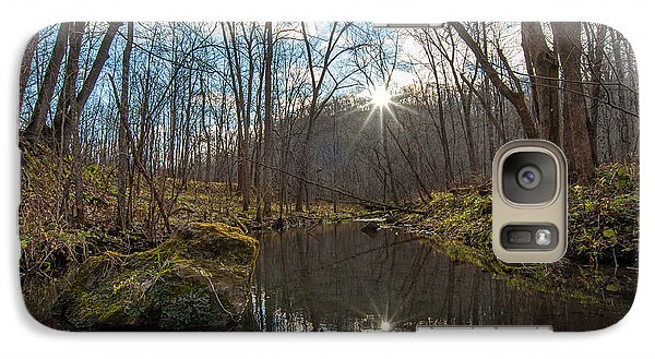 Galaxy Case featuring the photograph Pine Creek by Dan Traun