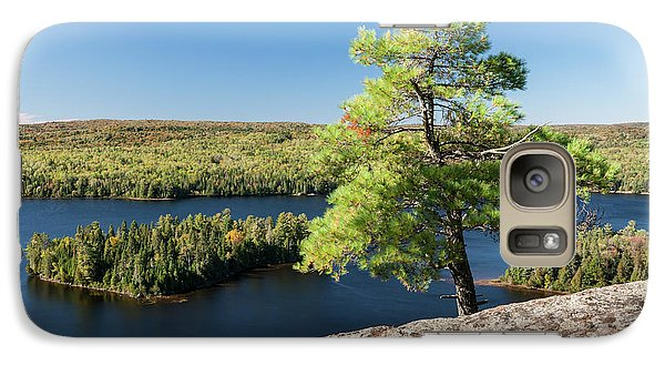 Galaxy Case featuring the photograph Pine Tree With A View by Elena Elisseeva