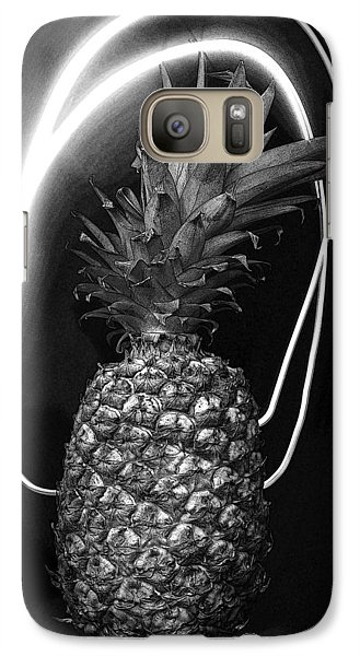 Galaxy Case featuring the photograph Pineapple by Jim Mathis