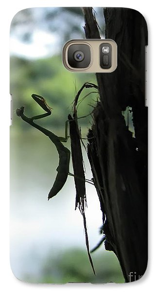 Galaxy Case featuring the photograph Pines And Prayers by Misha Bean