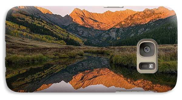 Galaxy Case featuring the photograph Piney River Panorama by Aaron Spong