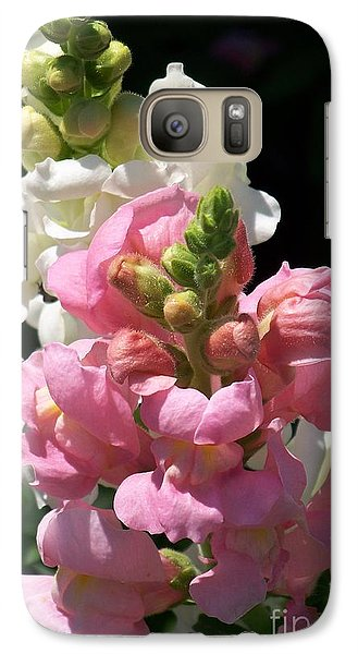 Galaxy Case featuring the photograph Sweet Peas by Eunice Miller