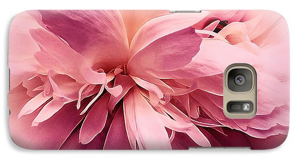 Galaxy Case featuring the photograph Pink Ballet Powder Puff by Darlene Kwiatkowski