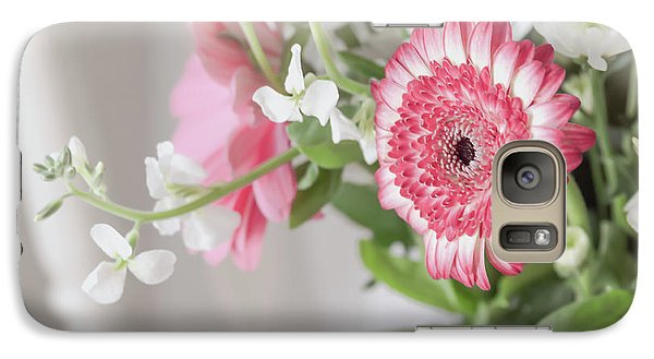 Galaxy Case featuring the photograph Pink Blooms Love by Kim Hojnacki