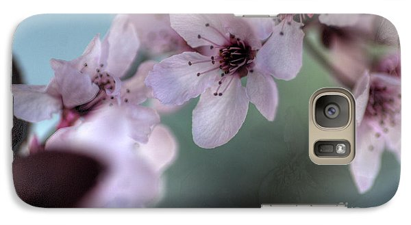 Galaxy Case featuring the photograph Pink Blossoms by Jim and Emily Bush