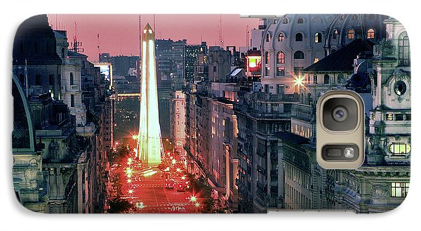 Galaxy Case featuring the photograph Pink Buenos Aires  by Bernardo Galmarini