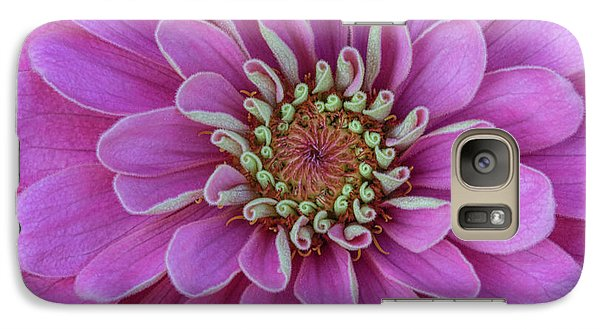 Galaxy Case featuring the photograph Pink Dahlia by Dale Kincaid