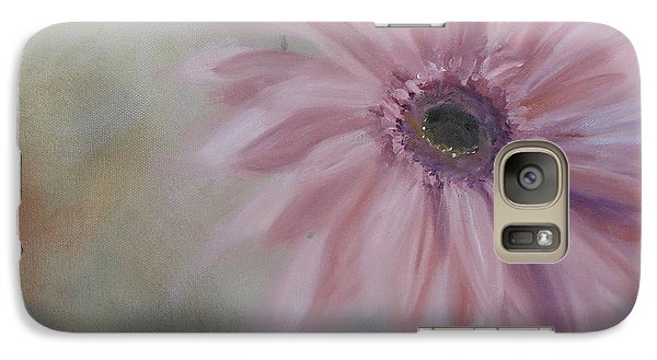 Galaxy Case featuring the painting Pink Daisies by Donna Tuten
