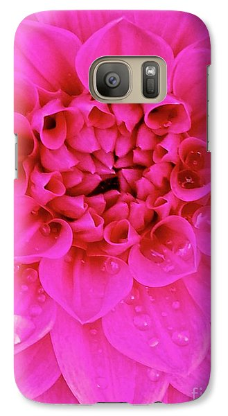 Galaxy Case featuring the photograph Pink Delight by Cathy Dee Janes
