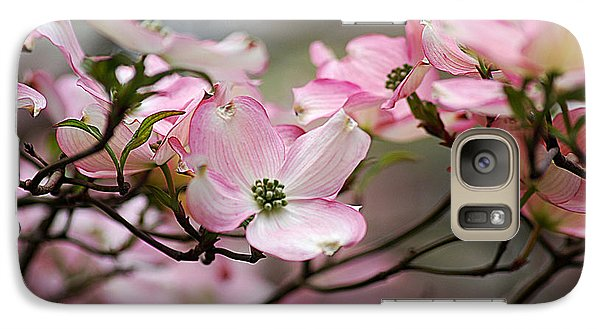 Galaxy Case featuring the photograph Pink Dogwood 20120415_68a by Tina Hopkins