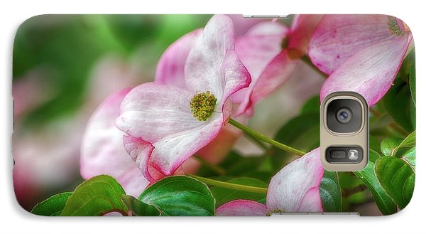 Galaxy Case featuring the photograph Pink Dogwood by Bonnie Bruno