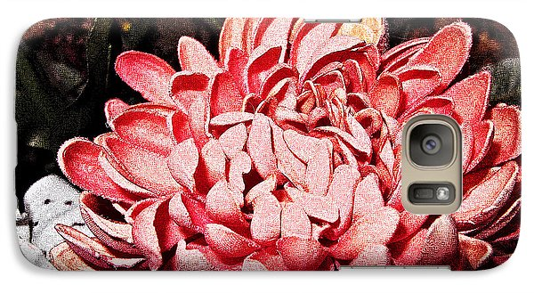 Galaxy Case featuring the photograph Pink Flower by Joan  Minchak