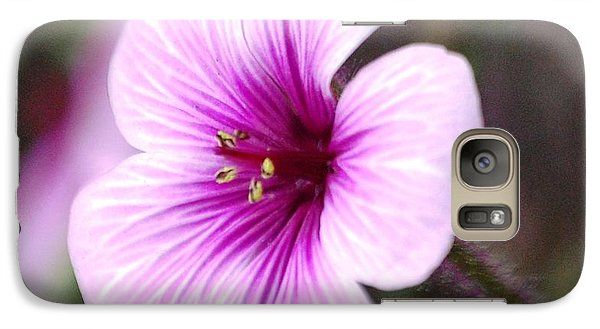 Galaxy Case featuring the photograph Pink Flower by Sumoflam Photography