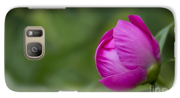 Galaxy Case featuring the photograph Pink Globe by Andrea Silies