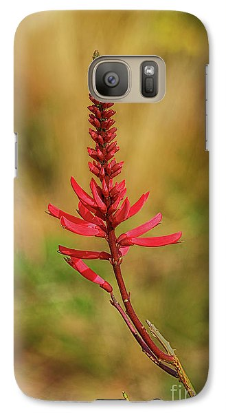 Galaxy Case featuring the photograph Pink Glory by Deborah Benoit