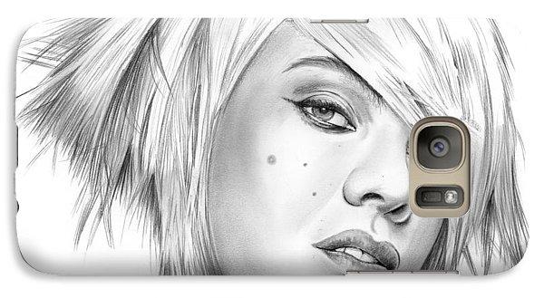 Pink Galaxy S7 Case by Greg Joens