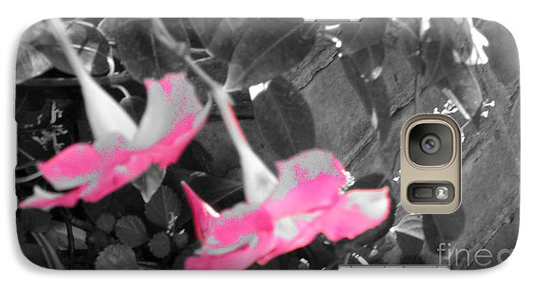 Galaxy Case featuring the photograph Pink Hats  by Cathy Dee Janes