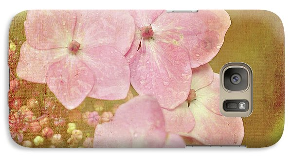 Galaxy Case featuring the photograph Pink Hydrangeas by Lyn Randle