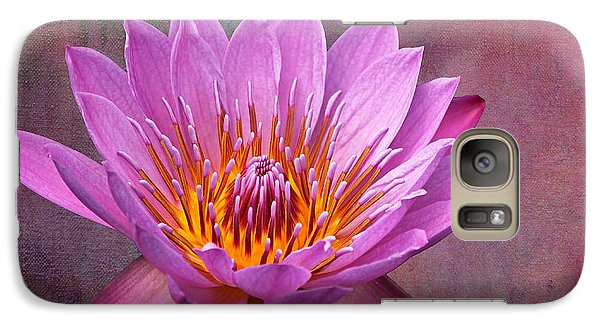 Galaxy Case featuring the photograph Pink Lady by Judy Vincent