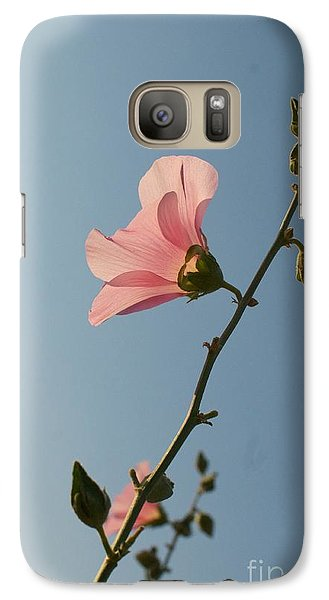 Galaxy Case featuring the photograph Pink by Louise Fahy