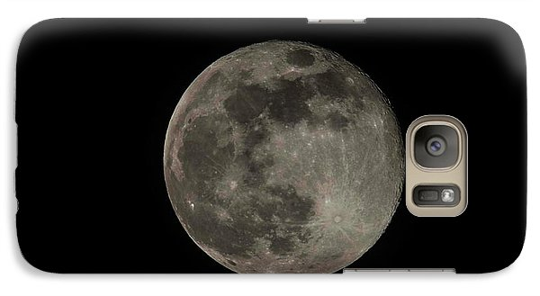 Galaxy Case featuring the photograph Pink Moon by David Bearden