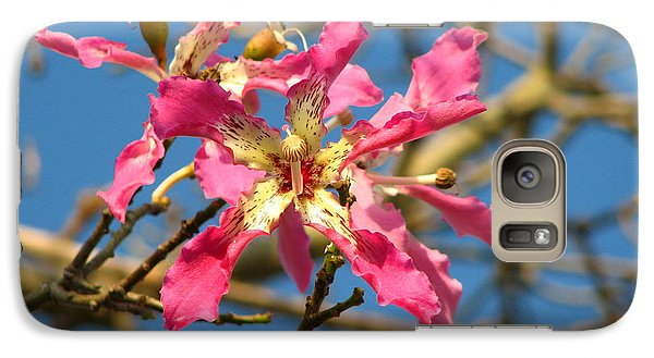 Galaxy Case featuring the photograph Pink Orchid Tree by Carla Parris