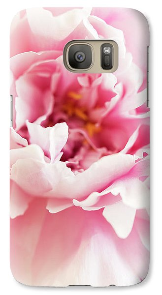 Galaxy Case featuring the photograph Pink Peony 2 by Elena Nosyreva