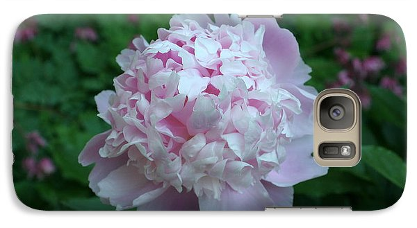 Galaxy Case featuring the digital art Pink Peony by Barbara S Nickerson