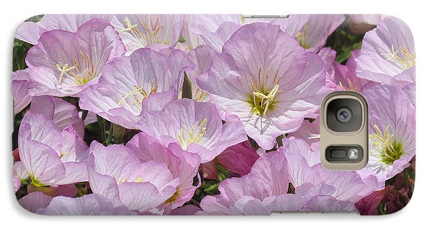 Galaxy Case featuring the photograph Pink Primrose by Bonnie Muir