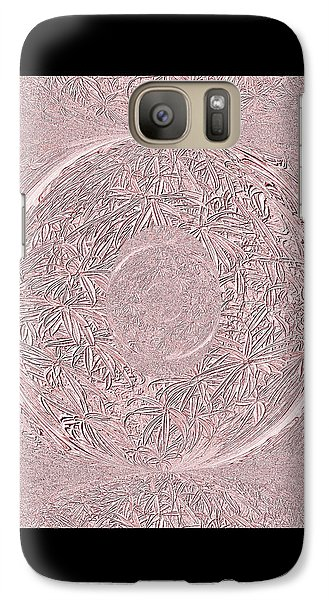 Galaxy Case featuring the digital art Pink Ring. Special by Oksana Semenchenko