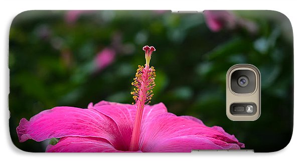 Galaxy Case featuring the photograph Pink Romance by Kelly Wade