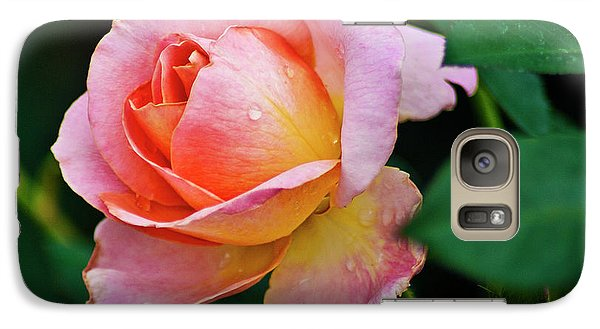 Galaxy S7 Case featuring the photograph Pink Rose by Bill Barber