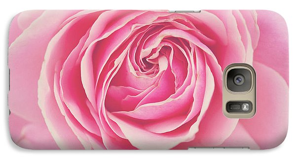 Galaxy Case featuring the photograph Pink Rose Petals by Melanie Alexandra Price