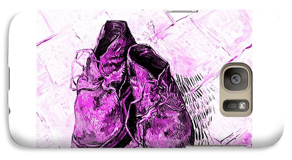 Galaxy Case featuring the photograph Pink Shoes by John Stephens