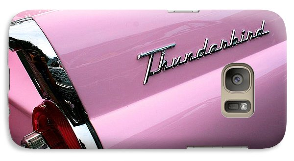 Galaxy Case featuring the photograph Pink Thunderbird by Polly Castor