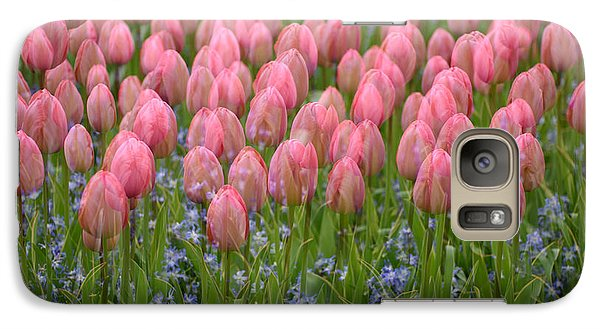 Galaxy Case featuring the photograph Pink Tulips by Phyllis Peterson