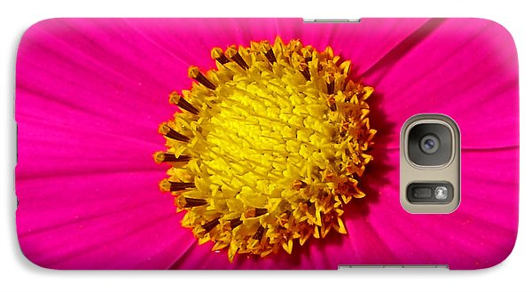 Galaxy Case featuring the photograph Pink Wildflower 008 by George Bostian