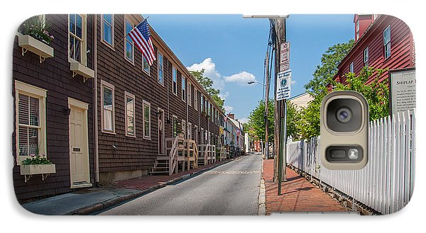 Galaxy Case featuring the photograph Pinkney Street by Charles Kraus