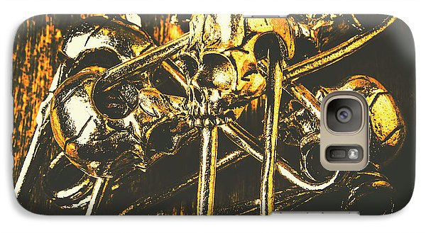 Galaxy Case featuring the photograph Pins Of Horror Fashion by Jorgo Photography - Wall Art Gallery