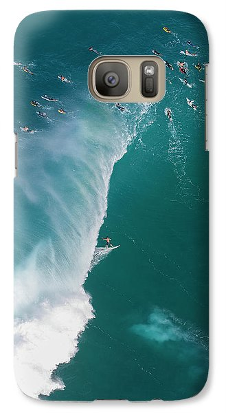 Helicopter Galaxy S7 Case - Pipe Tube Overvew by Sean Davey