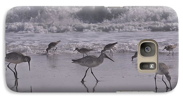 Sandpiper Galaxy S7 Case - Piper Paradise by Betsy Knapp