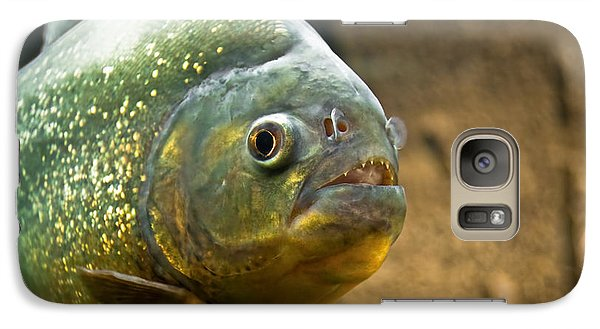 Galaxy Case featuring the photograph Piranha by Yurix Sardinelly
