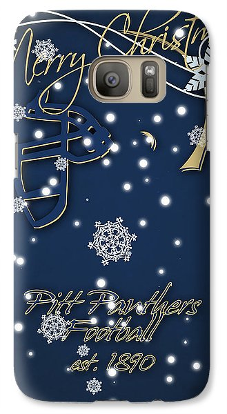 Pitt Panthers Christmas Cards Galaxy S7 Case
