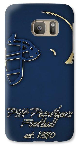 Pitt Panthers Galaxy S7 Case by Joe Hamilton